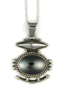 Silver Hematite Pendant by Fritson Toledo