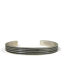 Silver Channel Bracelet by Francis Jones