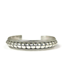 """Sterling Silver Bracelet 1/2"""" by Thomas Charley"""