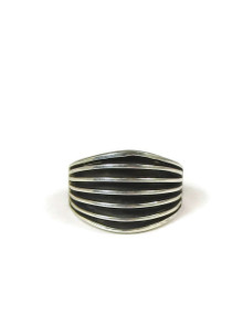 Silver Channel Ring Size 6 1/2 by Francis Jones