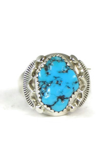 Sleeping Beauty Turquoise Ring Size 10 1/4