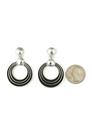 Silver Channel Earrings by Francis Jones (ER4479)