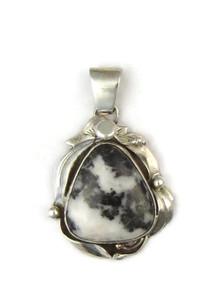 White Buffalo Pendant by Les Baker Jewelry (PD4813)