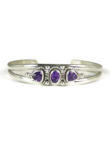 Sterling Silver Amethyst Bracelet (BR4106)