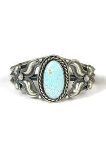 Number 8 Turquoise Bracelet by Derrick Gordon (BR4122)