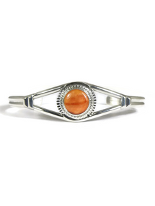 Orange Spiny Oyster Shell Bracelet by Larson Lee (BR5672)