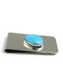 Candalaria Turquoise Money Clip
