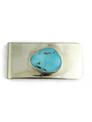 Sleeping Beauty Turquoise Money Clip