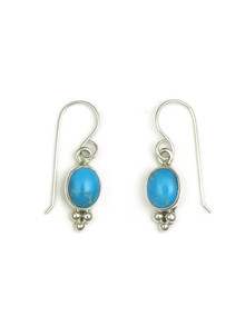 Sleeping Beauty Turquoise Earrings by Shirley Henry (ER3401)