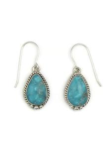 Sierra Nevada Turquoise Earrings by Margaret Platero