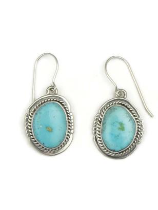 Kingman Turquoise Earrings by Jake Sampson (ER3448)