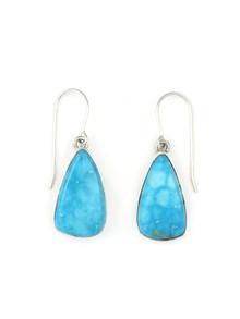 Kingman Turquoise Earrings by Lyle Piaso(ER3451)
