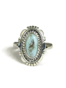 Dry Creek Turquoise Ring Size 9 (RG3641)