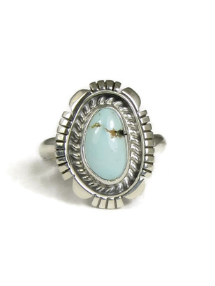 Dry Creek Turquoise Ring Size 7 (RG3647)