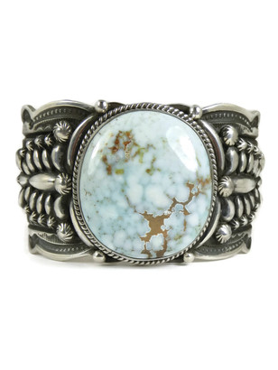 Dry Creek Turquoise Cuff Bracelet by Darryl Becenti (BR4715)
