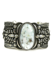 Dry Creek Turquoise Cuff Bracelet by Darryl Becenti (BR4717)