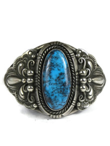 Natural Chinese Turquoise Bracelet by Fritson Toledo