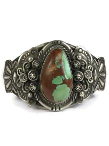 Royston Boulder Turquoise Bracelet by Fritson Toledo