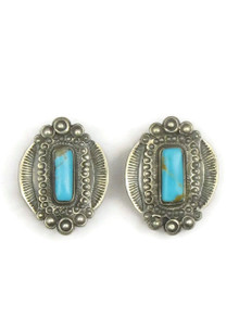Old Style Kingman Turquoise Earrings