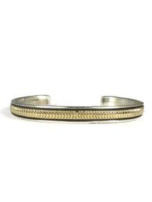 14k Gold & Sterling Silver Bracelet by Bruce Morgan (BR4231)
