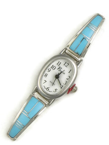 Turquoise Inlay Watch (WTH825)