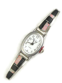 Onyx & Opal Inlay Watch (WTH829)