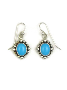 Sleeping Beauty Turquoise Earrings by Elgin Tom