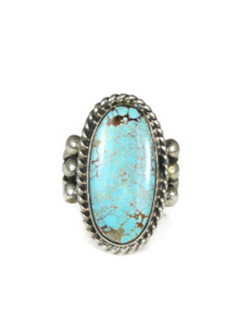 Royston Turquoise Ring Size 8 1/2 by Linda Yazzie (RG3834)