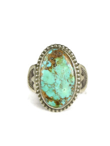 Natural Number 8 Turquoise Ring Size 7 1/2 by Terry Martinez
