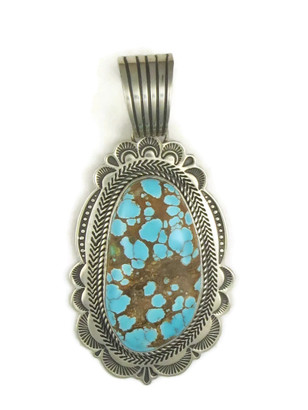 Natural Large Dragonfly Turquoise Pendant by Albert Jake (PD3864)