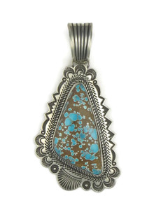 Natural Dragonfly Turquoise Pendant by Albert Jake (PD3865)