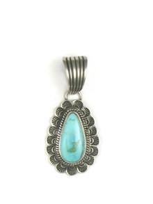 Royston Turquoise Pendant by Tsosie White