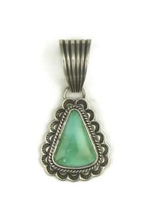 Royston Turquoise Pendant by Tsosie White (PD3870)