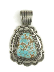 Natural Dragonfly Turquoise Pendant by Albert Jake (PD3872)