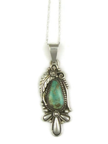 Pilot Mountain Turquoise Pendant by Fritson Toledo (PD3878)