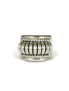 Sterling Silver Ring Size 5 1/2 by Thomas Charley (RG4385-S5.5)