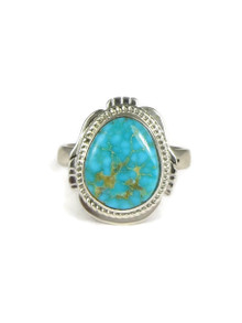Easter Blue Turquoise Ring Size 9 by Jake Sampson