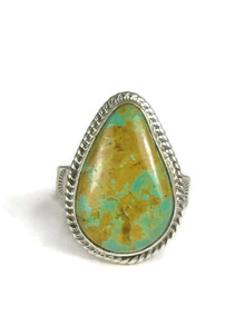 Manassa Turquoise Ring Size 7 by Lyle Piaso