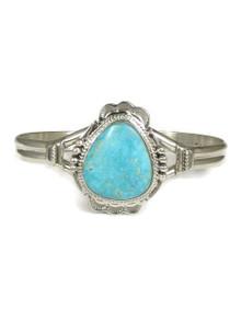 Kingman Turquoise Bracelet by John Nelson (BR4239)