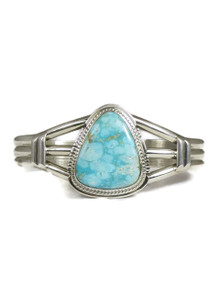 Water Web Kingman Turquoise Bracelet by Larson Lee