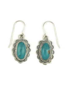 Turquoise Mountain Earrings by Burt Francisco (ER4050)