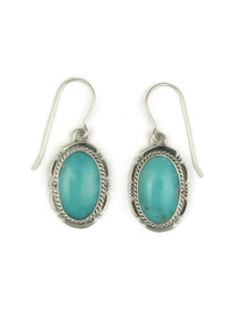 Turquoise Mountain Earrings by Kim Yazzie (ER4052)