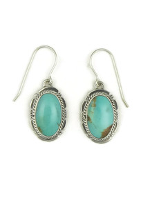 Turquoise Mountain Earrings by Kim Yazzie (ER4053)