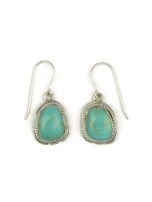 Turquoise Mountain Earrings by Kim Yazzie (ER4054)