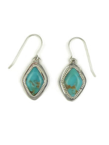 Turquoise Mountain Gem Earrings by Barbara Hemstreet (ER4056)