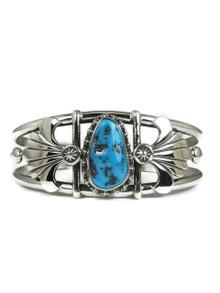 Kingman Turquoise Bracelet by Fritson Toledo (BR4251)