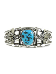 Kingman Turquoise Bracelet by Fritson Toledo (BR4252)