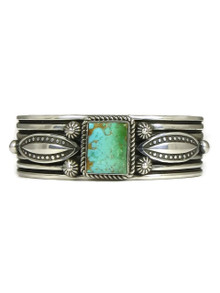 Natural Royston Turquoise Bracelet by Albert Jake