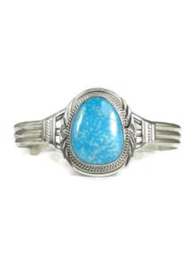 Kingman Turquoise Bracelet by John Nelson (BR4267)