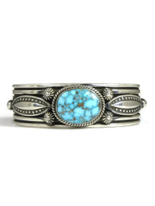 Natural Webbed Kingman Turquoise Bracelet by Albert Jake